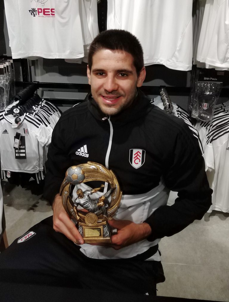 mitrovic receives gallini cup hall of fame